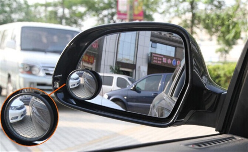 Car Wide Angle Round Convex Blind Mirror parking Rear view mirror for buick encore opel vauxhall mokka lacross excelle 2pcs(China (Mainland))