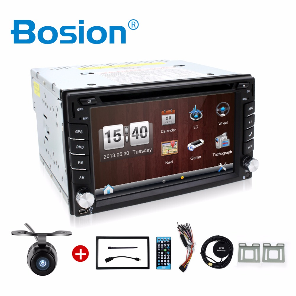 Car Electronic 2 din New universal Car Radio Double 2 din Car DVD Player GPS Navigation In dash Car PC Stereo video+Free Map(China (Mainland))