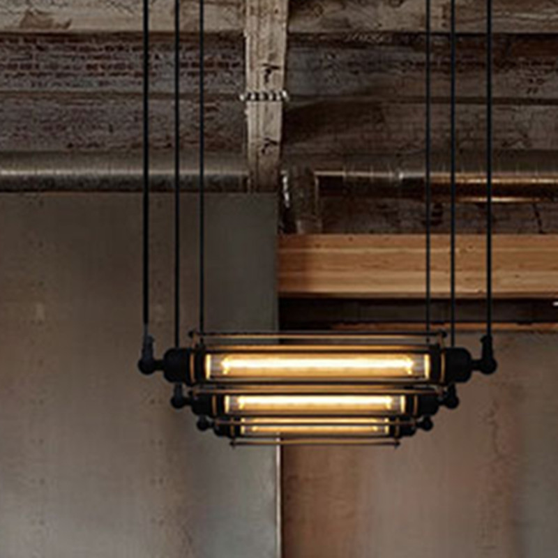 Design American Country Lighting Vintage Pendant Light Loft Edison Light Fixture Industrial Pendant Lighting Lampe Deco(China (Mainland))