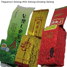 3 different flavors chinese olong tea, 250g tie guan yin oolong tea+250g ginseng oolong tea+250g milk olong tea+Free shipping