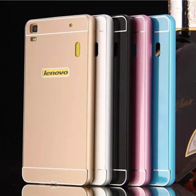 lenovo k3 note case,alumium metal frame and pc back cover luxury hard case for lenovo lemon k50-t5 k50 t5 5.5 inch case hot(China (Mainland))