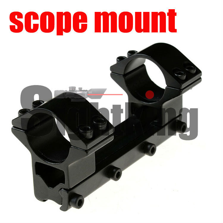 high profile 25.4mm ring 100mm length tactical 11mm rail mount for riflescope outdoor products series on sale(China (Mainland))