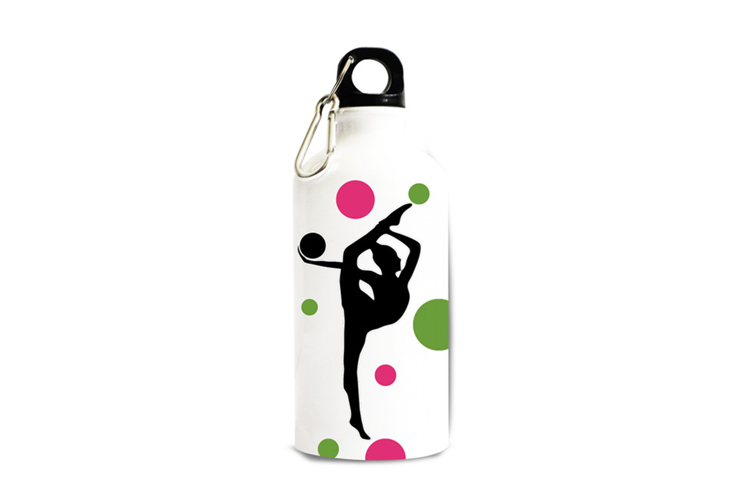 Personalized Custom Sports Aluminum White Finish 13.5 Ounce Sport Water Bottle Customizable Holiday Gift or Birthday Present(China (Mainland))