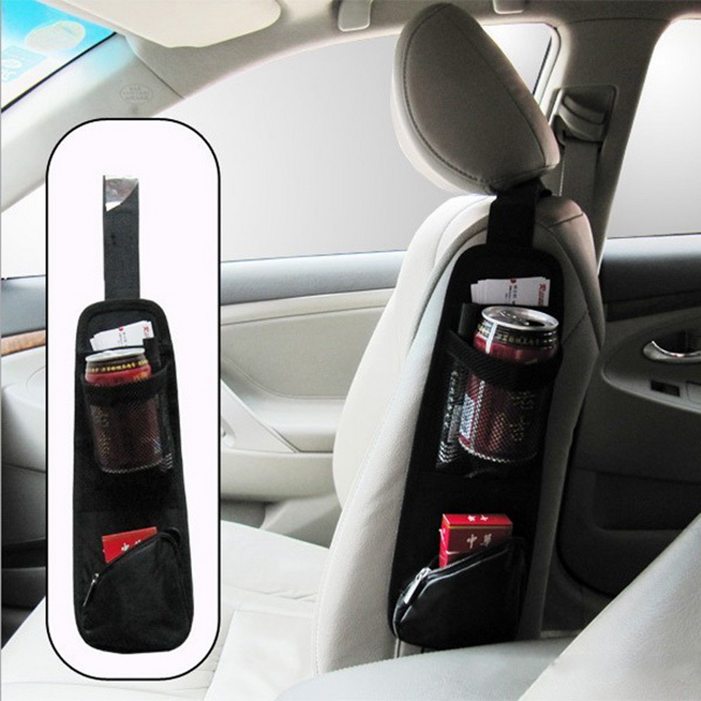 Гаджет  Useful Car Interior Seat Covers Hanging Bags Collector Organizing Bag with Storage Pockets Seat Bag of Chair Side Free Shipping None Автомобили и Мотоциклы