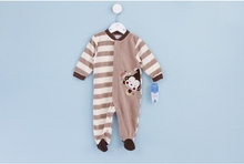 Baby girls Boys long sleeve Romper jumpsuit one-piece outfits clothes fleece newborn high quality exported quality polar fleece