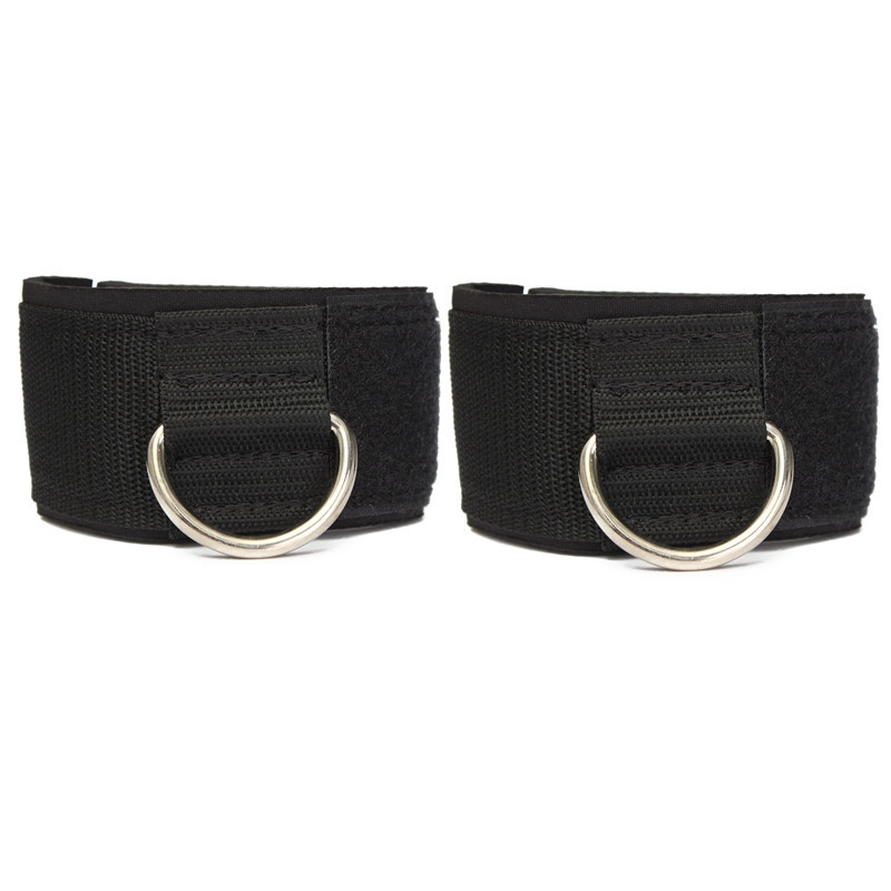 Guardian Table Pads 2pcs D-ring Ankle Anchor Strap Belt Multi Gym Cable Attachment Thigh ...