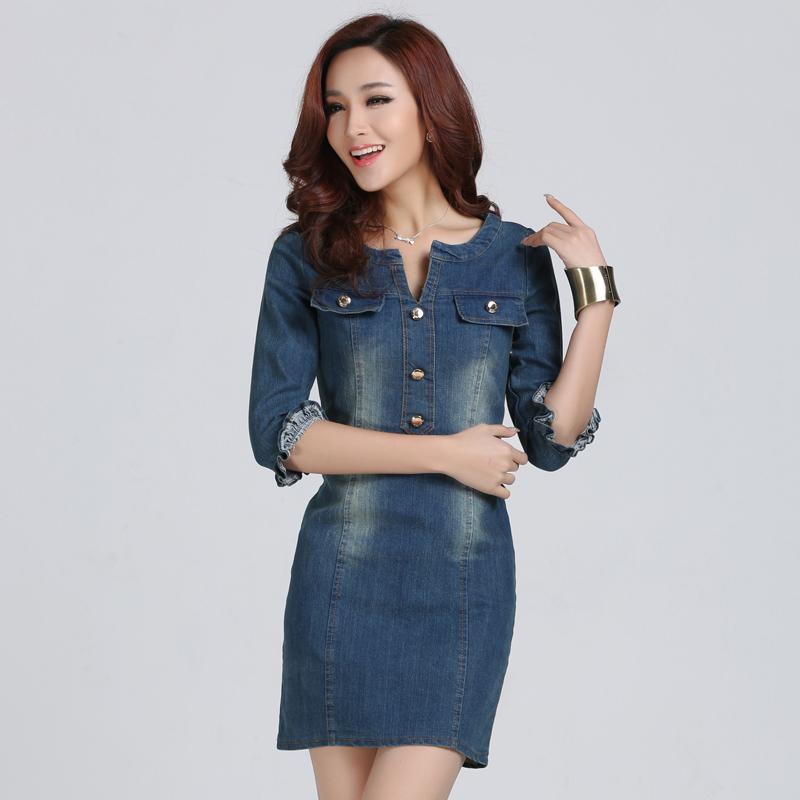 2014 spring new design style waist slim dressenglish