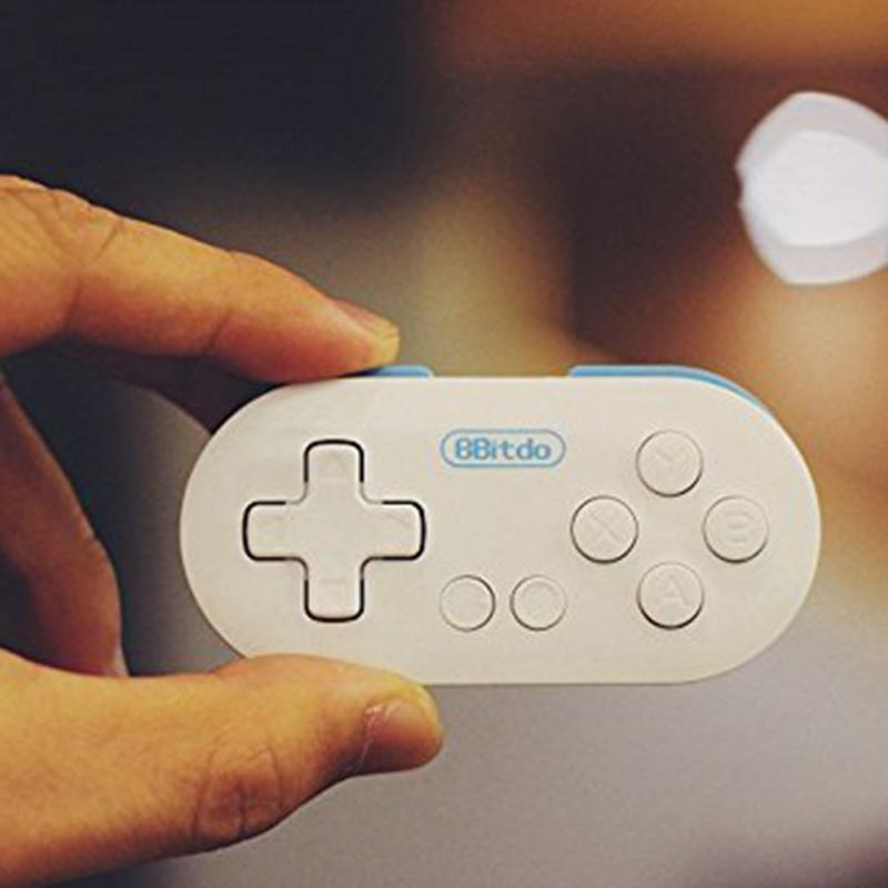 8Bitdo Zero Mini Wireless Bluetooth V2.1 Game Controller Gamepad Joystick Selfie for Android iOS Window Mac OS with Remote Shutt(China (Mainland))
