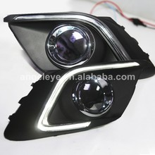 Buy For Mazda 3 AXELA 2014-2016 year strip LED DRL Daytime Running Light T1 for $102.00 in AliExpress store