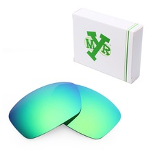 MRY POLARIZED Replacement Lenses for Oakley Hijinx Sunglasses Emerald Green