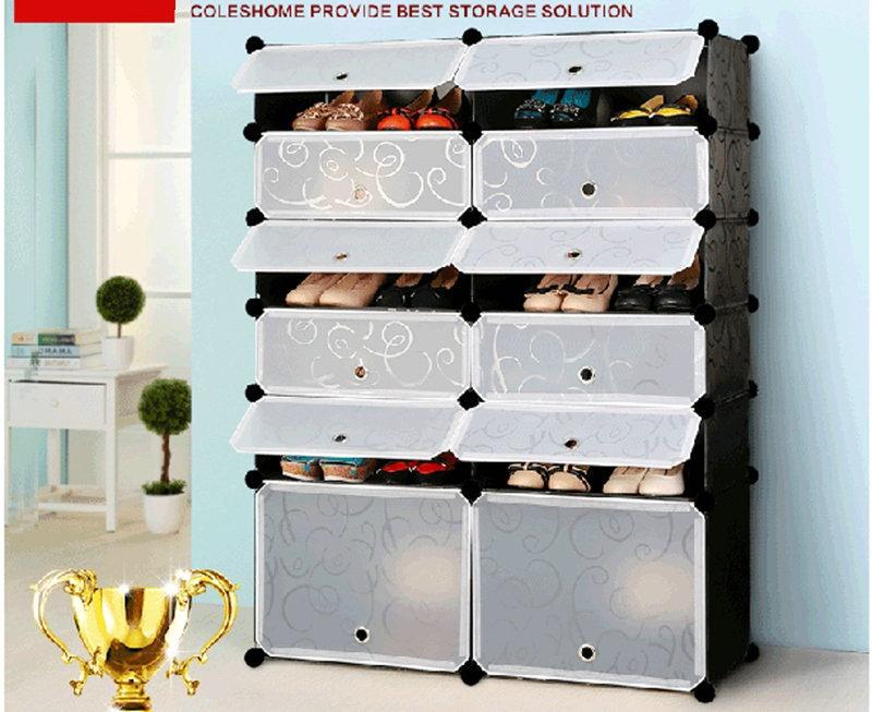 Гаджет  Free shipping!Simple modern creative DIY multi-function storage cabinet bookcase shoe rack shoe cabinet shoe shelf  shelves None Мебель