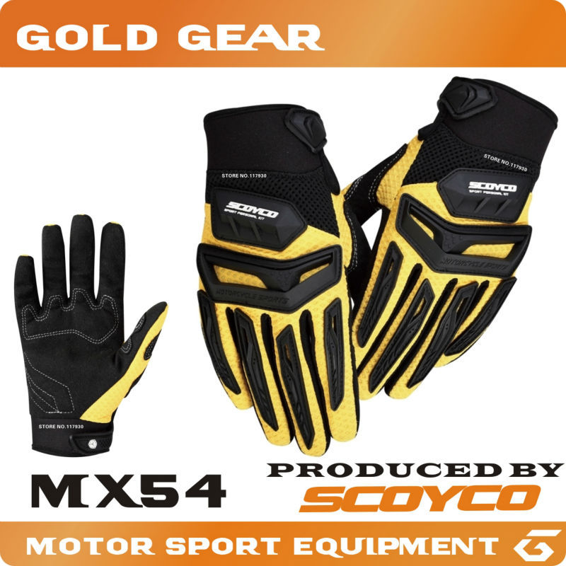 Protective Gears SCOYCO MX gloves motocross motorcycle gloves motos motocross luvas motorcycle motocicleta ATV gloves Dirt Bike(China (Mainland))