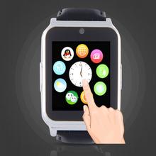 2016 новые смарт-зарядное часы W90 Reloj Inteligente Bluetooth кожаный ремешок поддержка SIM карты Smartwatch для iPhone Apple , IOS