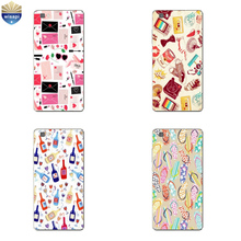 Phone Case Huawei P8/P8 P9 Lite Plus G9 Shell Honor 4A 4C 5C 7 7I Back Cover Mate 8 Cellphone Colorful Life Design - WISAPI Store store