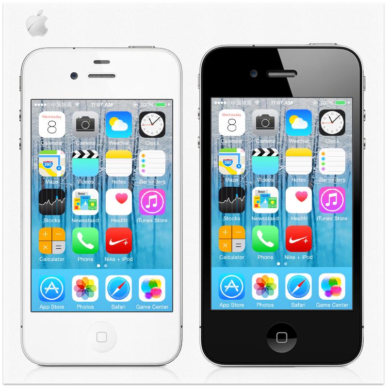 Original iPhone 4 16GB Unlocked IOS7 5MP Camera Wifi GPS WCDMA 3G Cell Phone USED(China (Mainland))