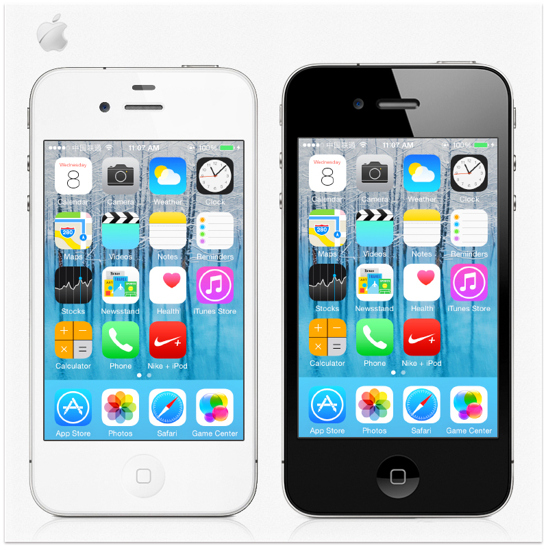Original iPhone 4 16GB Unlocked IOS7 5MP Camera Wifi GPS WCDMA 3G Cell Phone USED(China (Mainland))