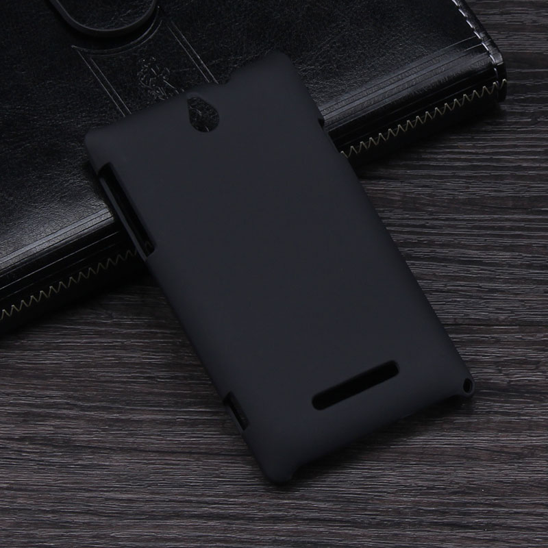 Nice Hand Feel Hybrid Case For Sony Xperia E C1504 C1505 Dual C1605 C1604 Hard Back Cover Matte Skin(China (Mainland))