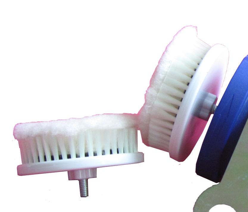 wholesale small brush for mini hand-held electric shoe polisher(China (Mainland))