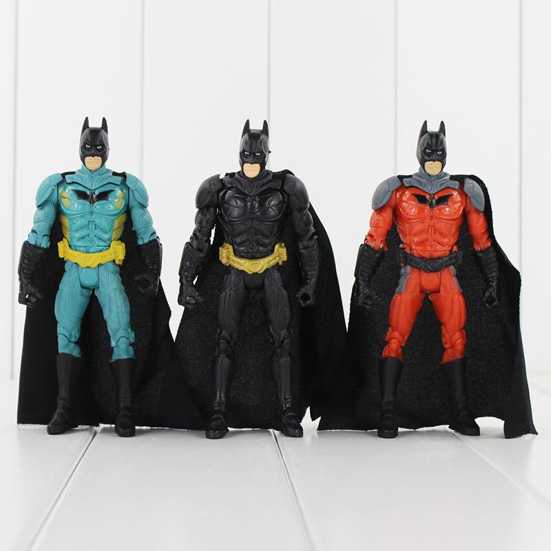 "3pcs/lot Superman vs Batman Action Figure Toys Dolls PVC Model Brinquedos Figurines For Collections 5.5"" 14cm(China (Mainland))"