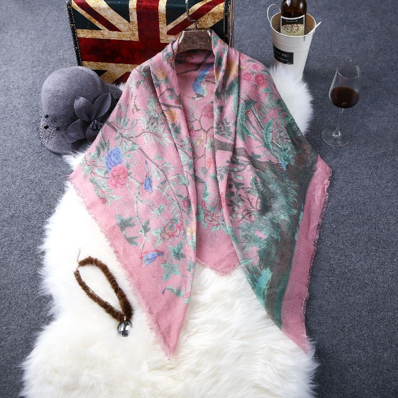 New  Brand Scarf Women Fashion Scarves Winter Cashmere Scarf Soft Warm Square Shawls And Wraps Top Quality Blankets