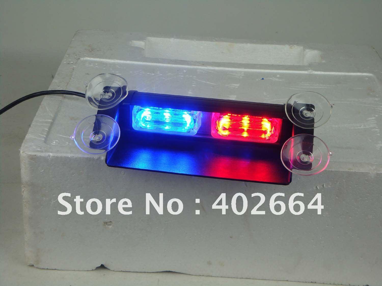 LED Emergency Warning Light (SL331-SV)+Cigarette plug with power and mode switch+GEN-3 1W LED+19 patterns+Windshield used+12V DC(China (Mainland))