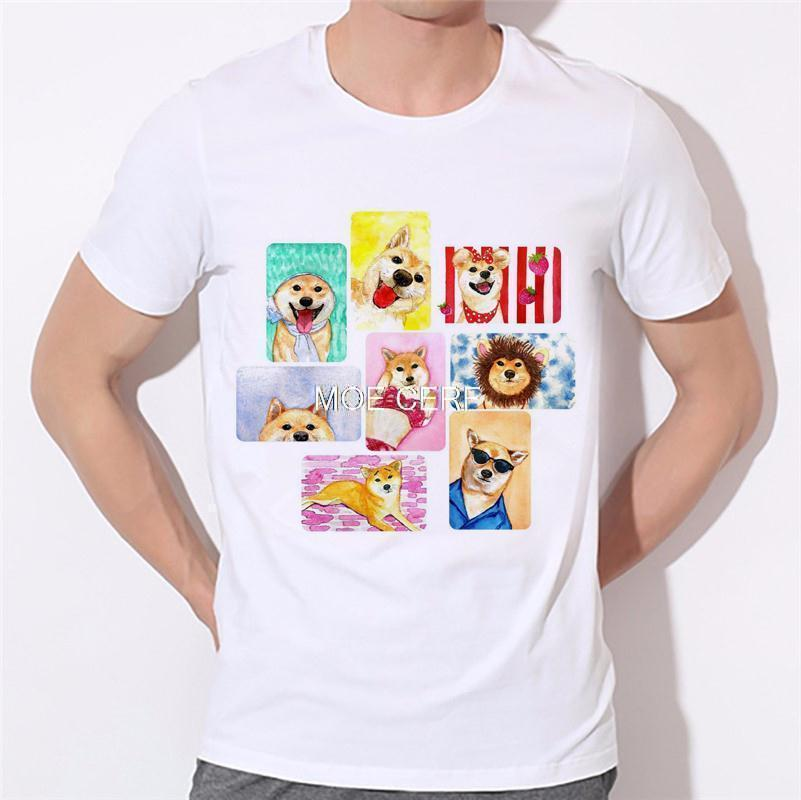 Moe Cerf Dogs Pug Tops Tees Shirt Hot Sale T Shirts Men Game Of Thrones 3D Man T-shirt Star Wars O Neck Mens t shirt B-137#  HTB1rtqsKVXXXXXdXpXXq6xXFXXXv