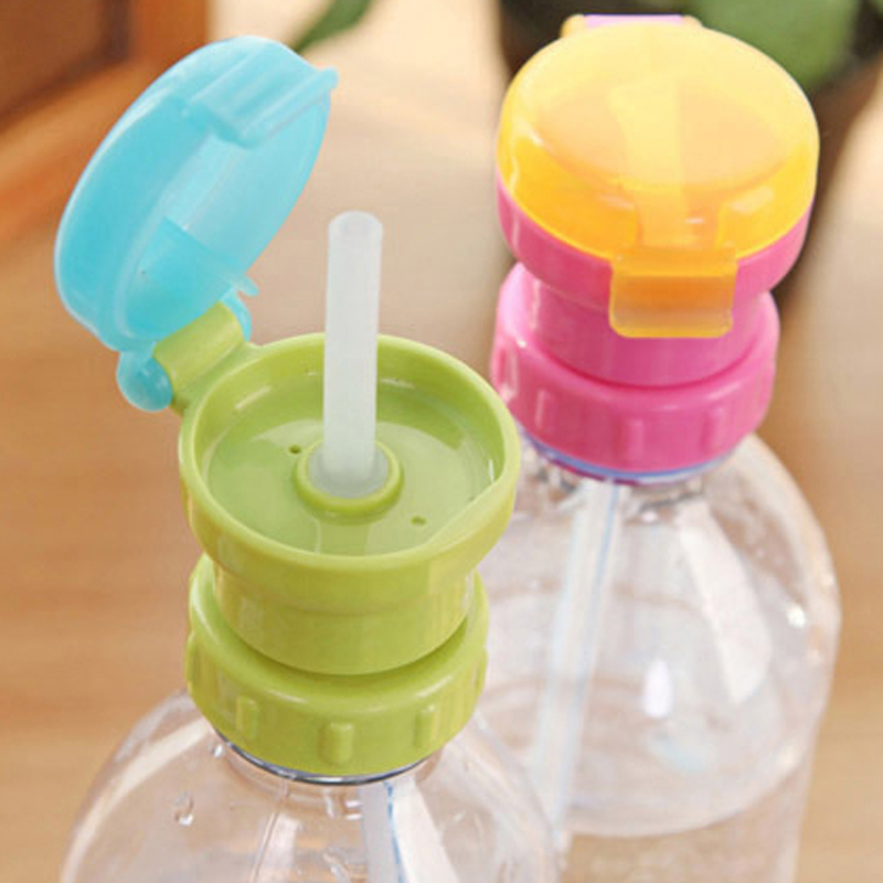 2015 Hot Sale Baby Product Children Portable Bottled Drinks Replacement Lid Spill Proof Lid Choke Straw -W435(China (Mainland))
