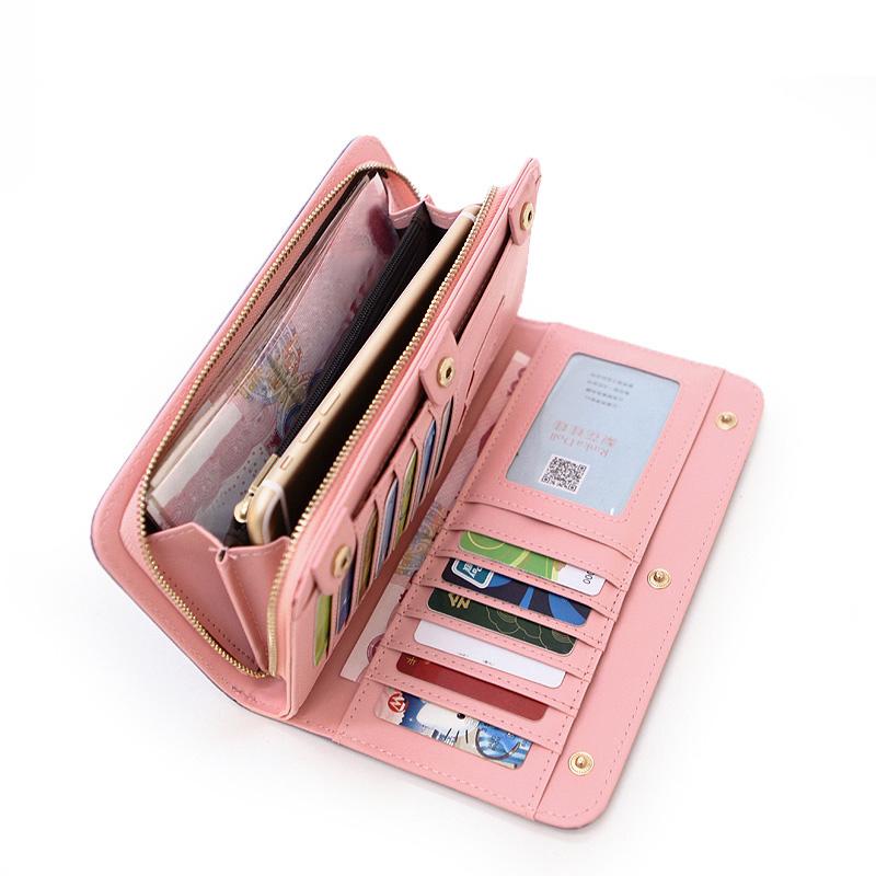 designer wallets famous brand women wallet 2016 womens wallets luxury famous brand wristlet wallet purse zipper elephant purse(China (Mainland))