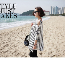 New Casual Autumn Long Sleeve T Shirt For Maternity Women Pregnant Tops(China (Mainland))