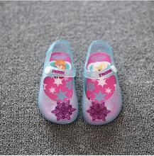 Mini Melissa Shoes 2016 Summer Cartoon Girls Sandals Cute Sandals for girls Children Shoes For Girl shoes Kids sandals melissa(China (Mainland))