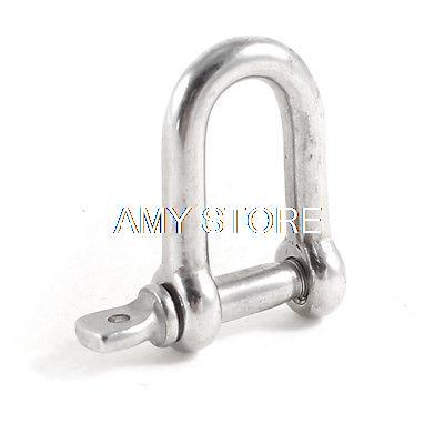 Boats Marine Stainless Steel 5/32 Screw Pin Anchor D Ring Shackle Rigging<br><br>Aliexpress