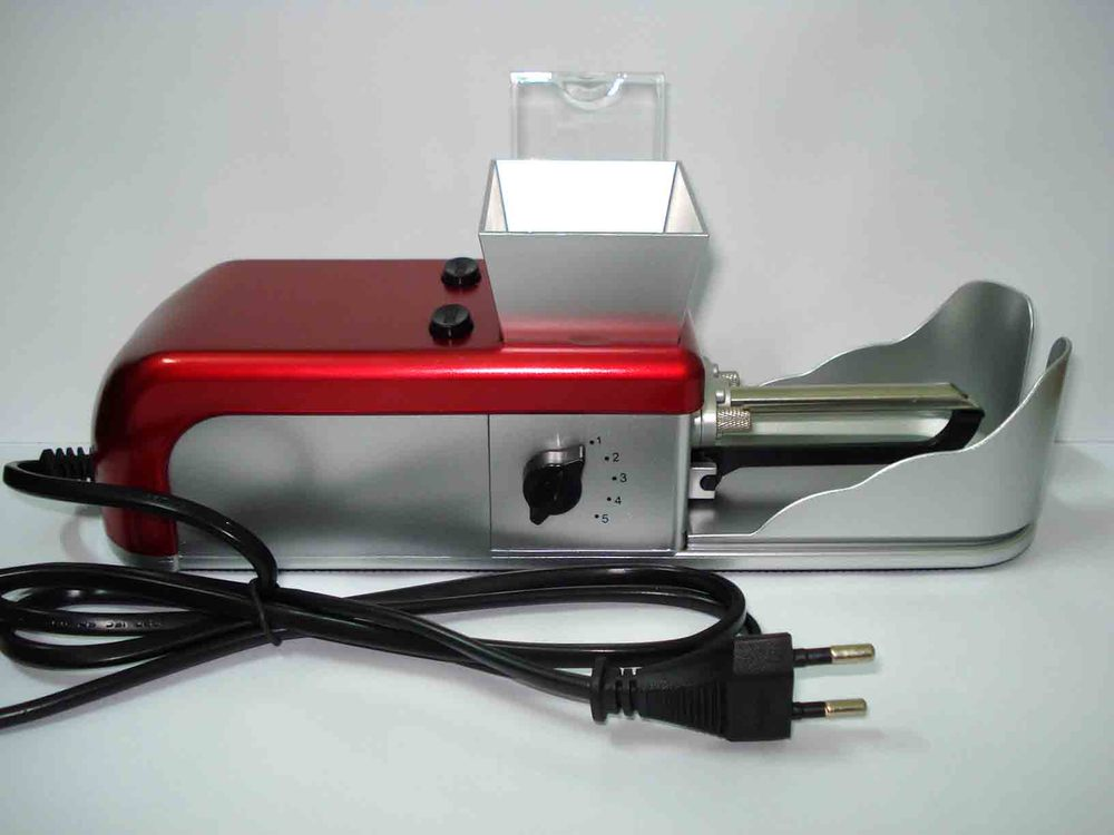 Free shipping tobacco rolling/roller machine 100-240V EUor US adapter(China (Mainland))