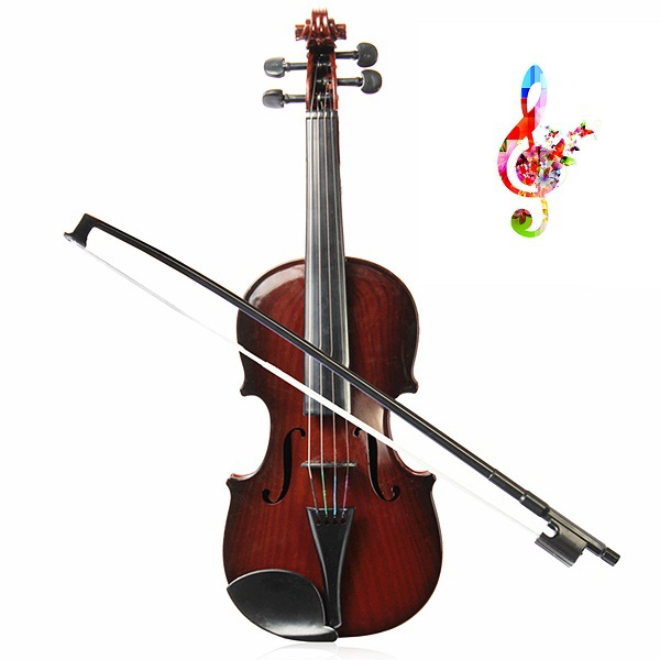 Freeshipping 2015 Children Bow Violin Toys Adjust String Kids Simulation Toy Musical Instrument For Gift(China (Mainland))