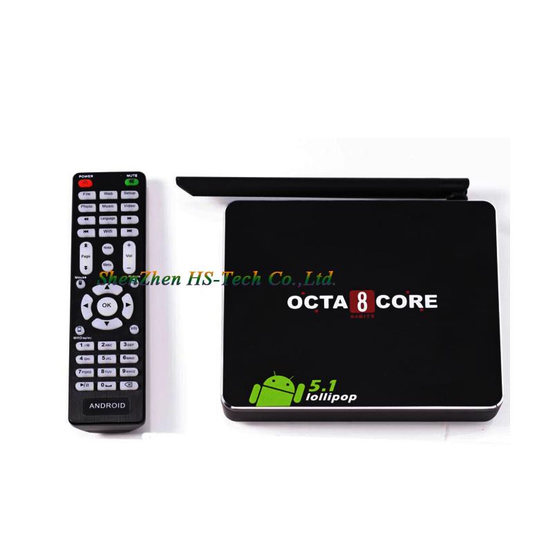 CSA90 Android TV Box RK3368 OctaCore 64Bit 1GB 8GB Bluetooth 4.0 KODI Cortex A53 Android 5.1 OS 2.4G/5GHz Dual Wifi HDMI 2.0<br><br>Aliexpress