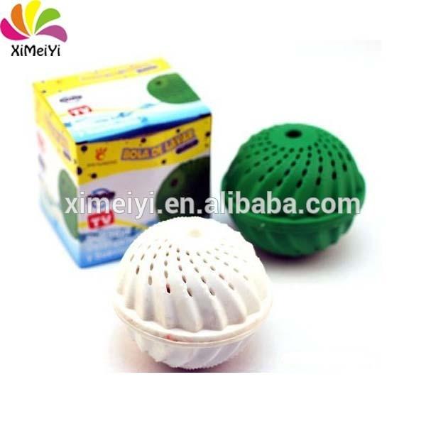2 pieces Free shipping laundry ball,Eco Laundry Ball Magnetic Washing Ball laundry ball As Seen On TV(China (Mainland))