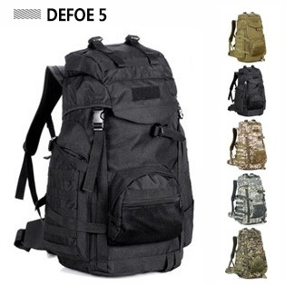 Tactical Military Outdoor Sports Backpack Molle Camouflage Travel Ultra-light Heavy Duty Bag Camping Hiking 7148 - DEFOE 5 Outdoors store