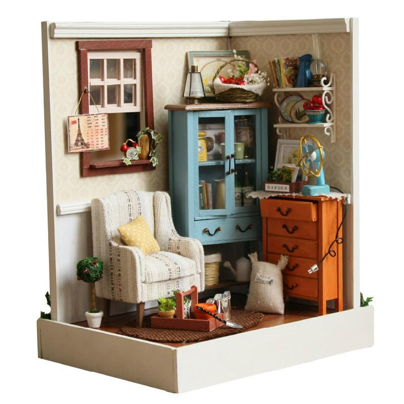 Online get cheap miniature dollhouse furniture aliexpress for House decoration stuff