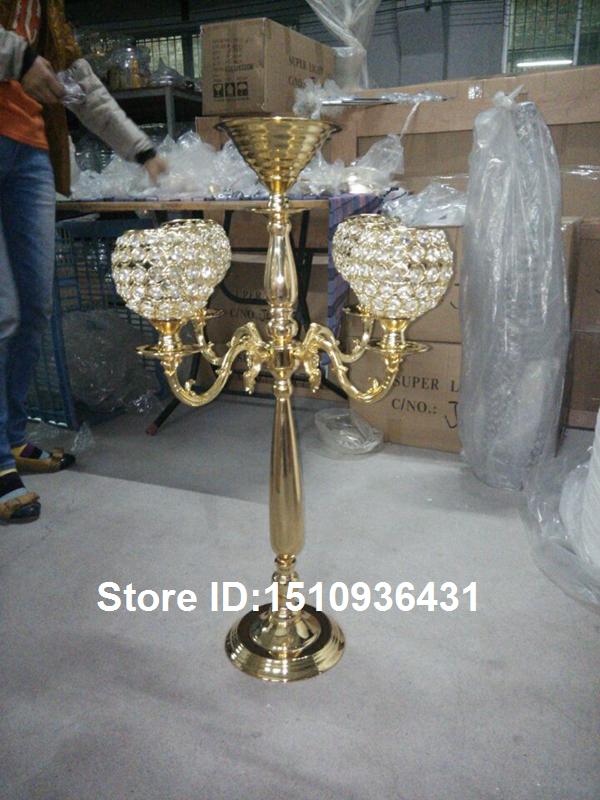Ouro do casamento com armas e cristal vela bola dragão(China (Mainland))