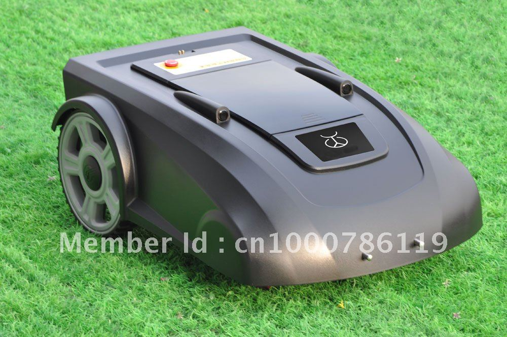 h Li-ion Battery Automatic Lawn Mower 2900 +Remote Controller+Compass+CE&ROHS(China (Mainland))
