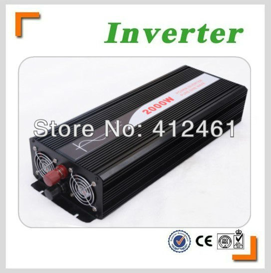 Hot Sell, 2000W Solar Power Inverter, DC12V or DC24V or DC48V Pure Sine Wave Inverter for Off Grid System