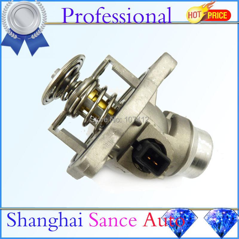 Engine Coolant Thermostat + Housing 11531436386 BMW E39 540i E38 740i 740iL E53 X5 1998 1999 2000 2001 2002 2003 JWQBW005 - Shanghai Sance Auto Part Co., Ltd. store