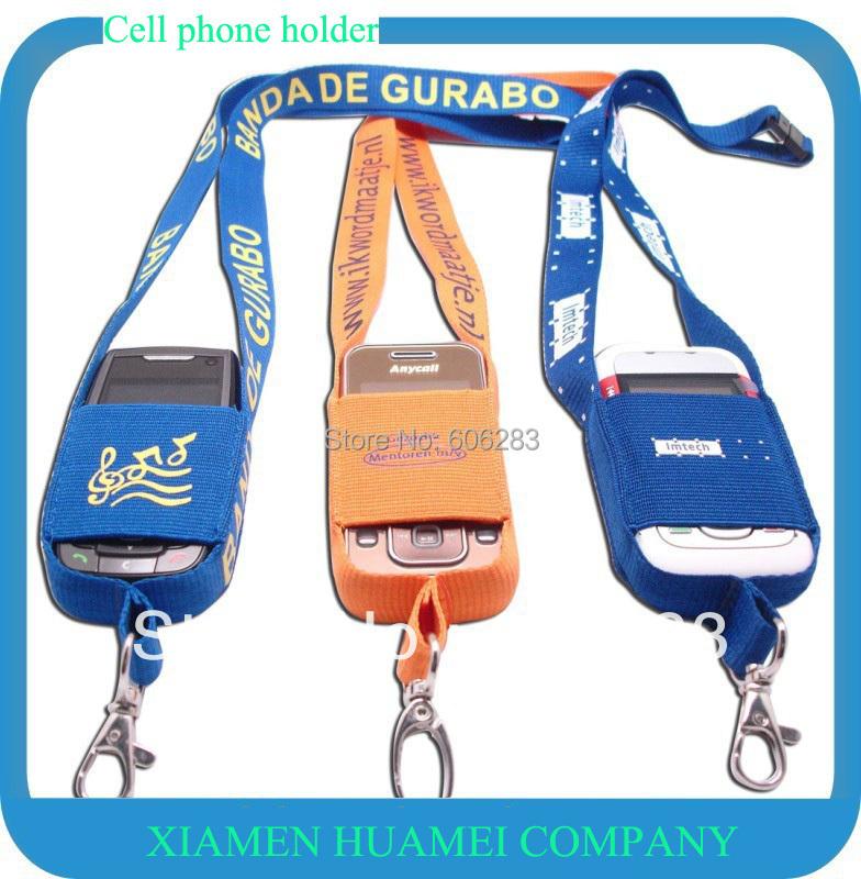 customize mobile holder lanyard mobile strap FREE shipping(China (Mainland))