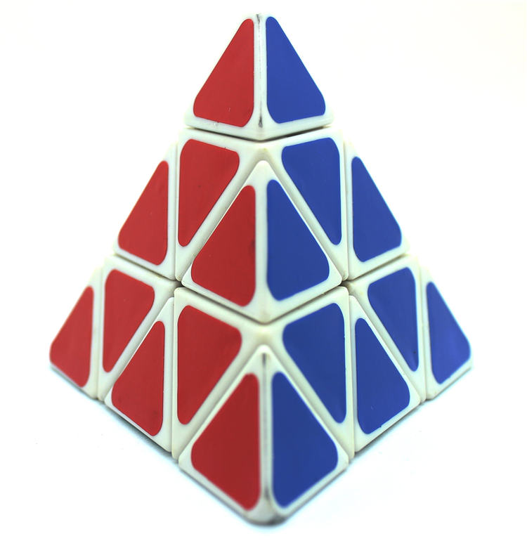 Interesting Triangle Magic Cube New Fashion Puzzle Cube Child Magic Cube Children and Adult's Game Clever toy(China (Mainland))