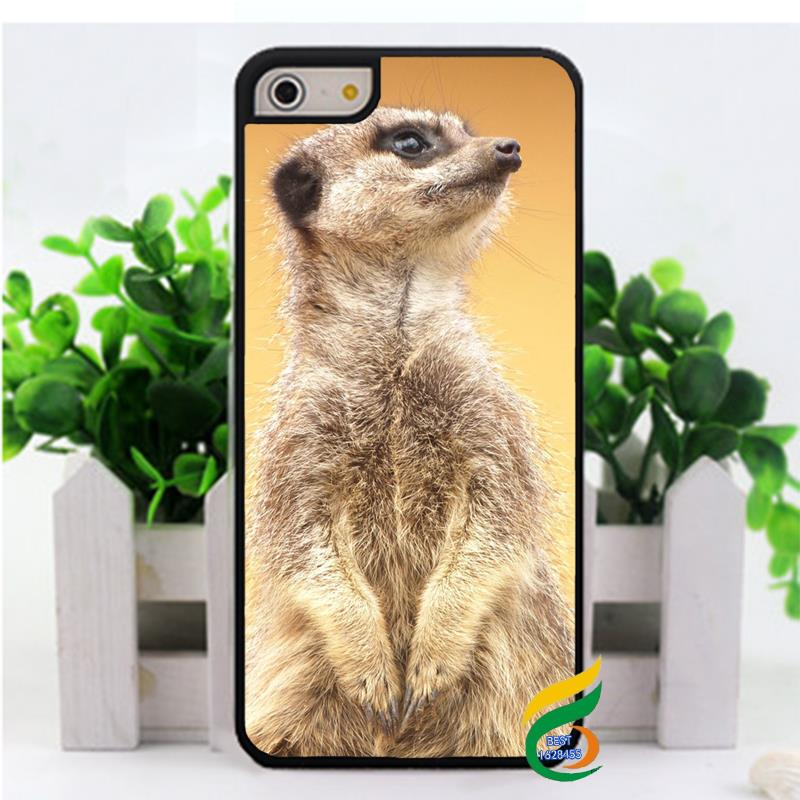 Cute meerkat fashion cell phone case cover for iphone 4 4s 5 5s 5c 6 & 6 plus M380(China (Mainland))