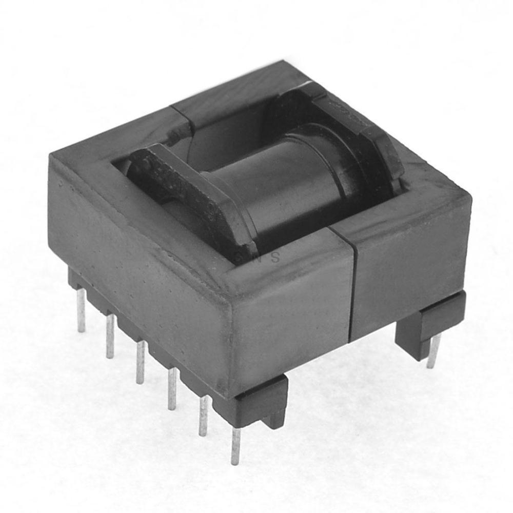 EE Transformer Ferrite Magnetic Core 12 Pins Plastic ...