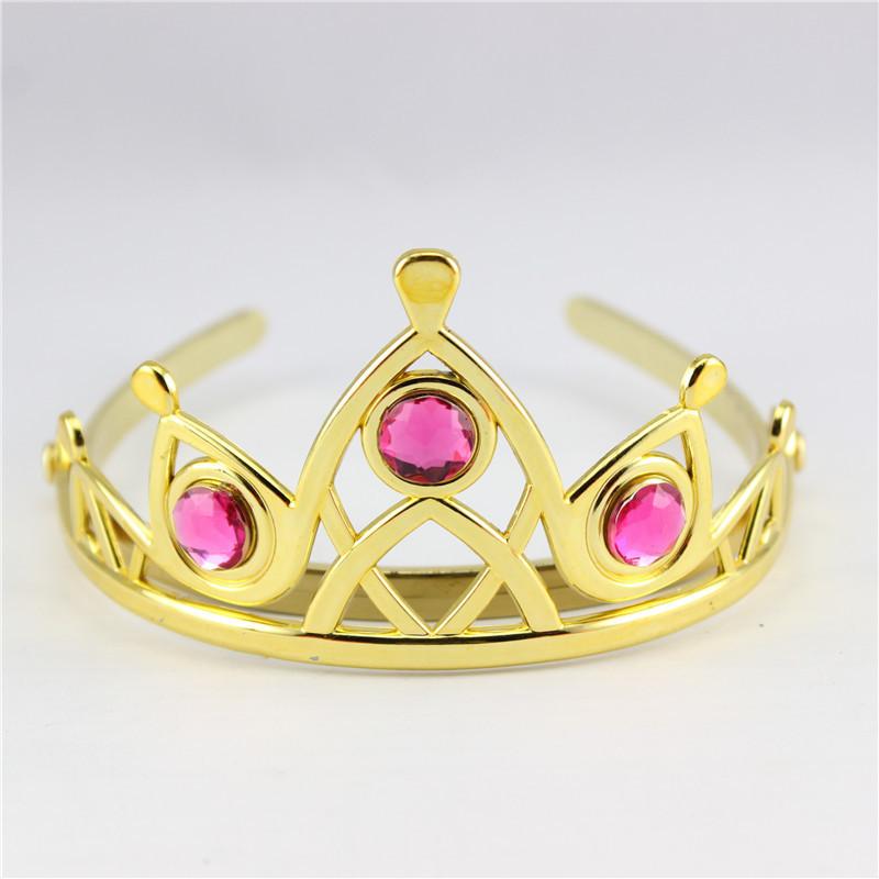 Elsa Cosplay Plastic Crown Tiara Hair Accessories Crown For Chritsmas ...
