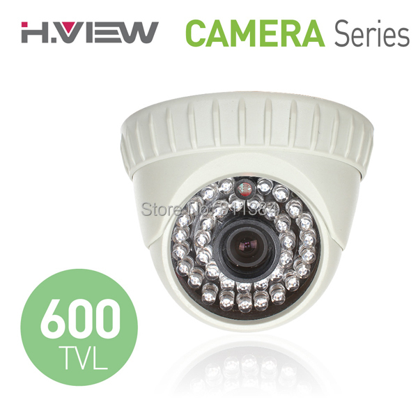 "1/4"" CMOS 600TVL IR Day and Night Security Surveillance Indoor Dome CCTV Camera(China (Mainland))"