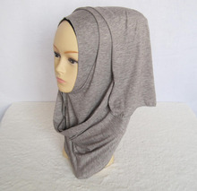 Muslim hijab Jersey hijab cotton jersey shawl Retail hijabs pretty scarf WL2489(China (Mainland))