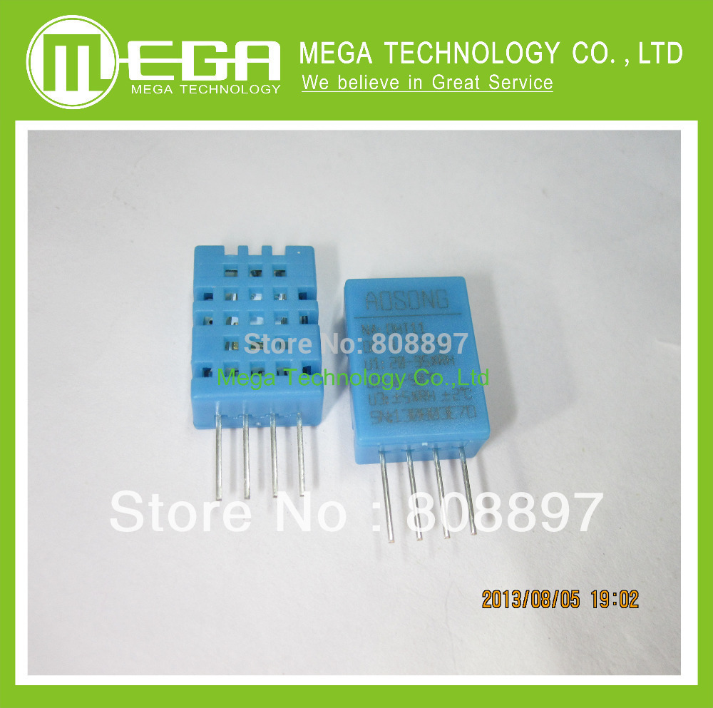Free shipping 1pcs DHT-11 DHT11 Digital Temperature and Humidity Sensor DHT-11(China (Mainland))