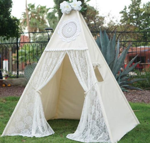 online kaufen gro handel indoor kids teepee tents aus china indoor kids teepee tents gro h ndler. Black Bedroom Furniture Sets. Home Design Ideas